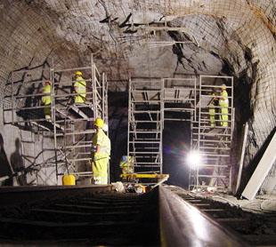 Diagnosi i reparació de patologies en túnels